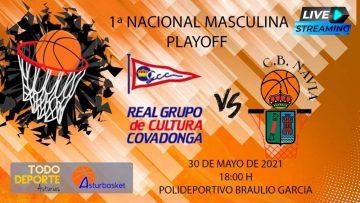 1ª Nacional Masculina – Grupo Covadonga Vs CB Navia