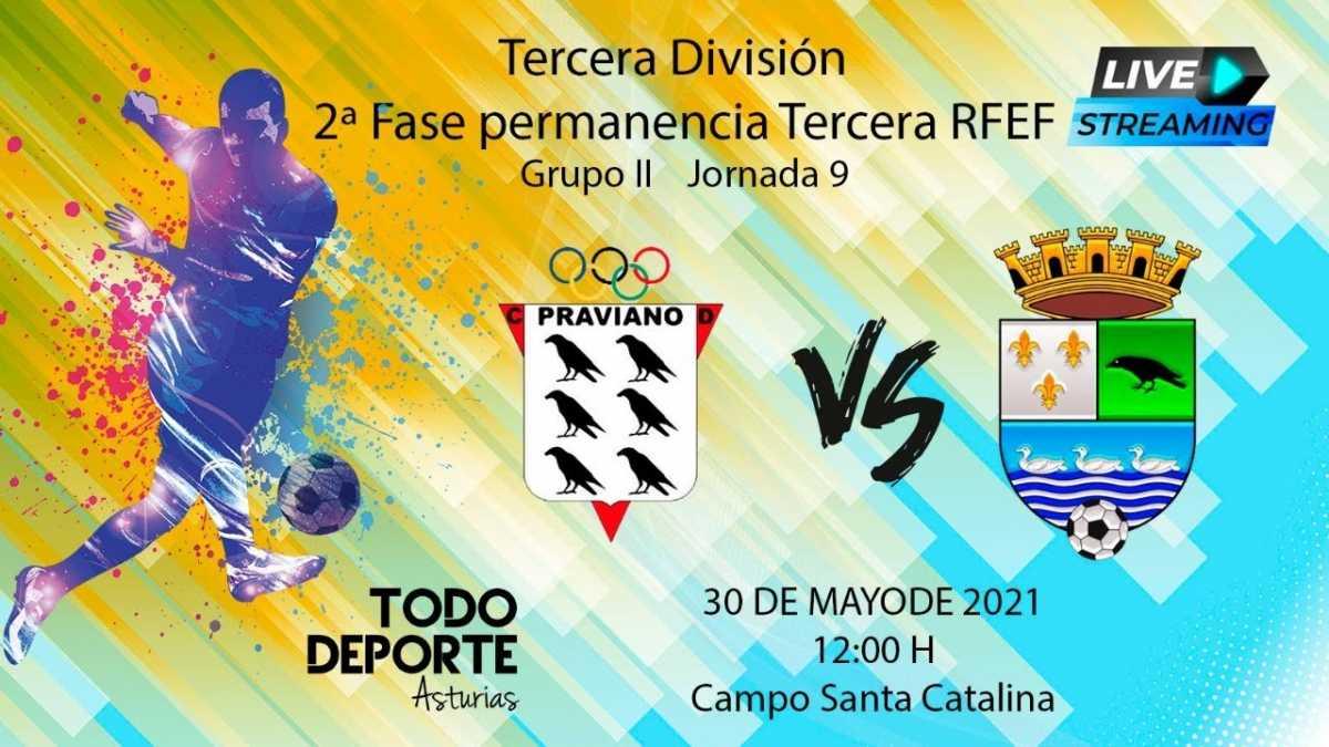 Directo – Fútbol 3ª División – Praviano Vs Colunga