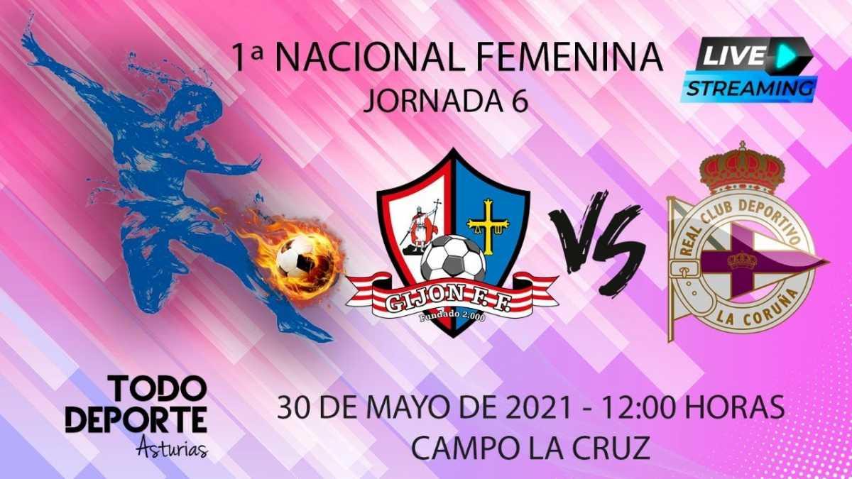 Directo – Fútbol Femenino 2ª División – Gijón FF Vs Deportivo Abanca B