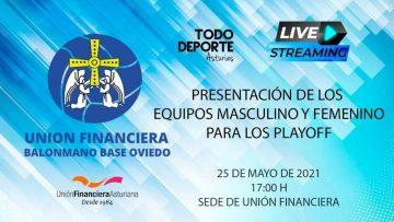 Directo – Presentación equipos masculino y femenino para los Playoff de ascenso