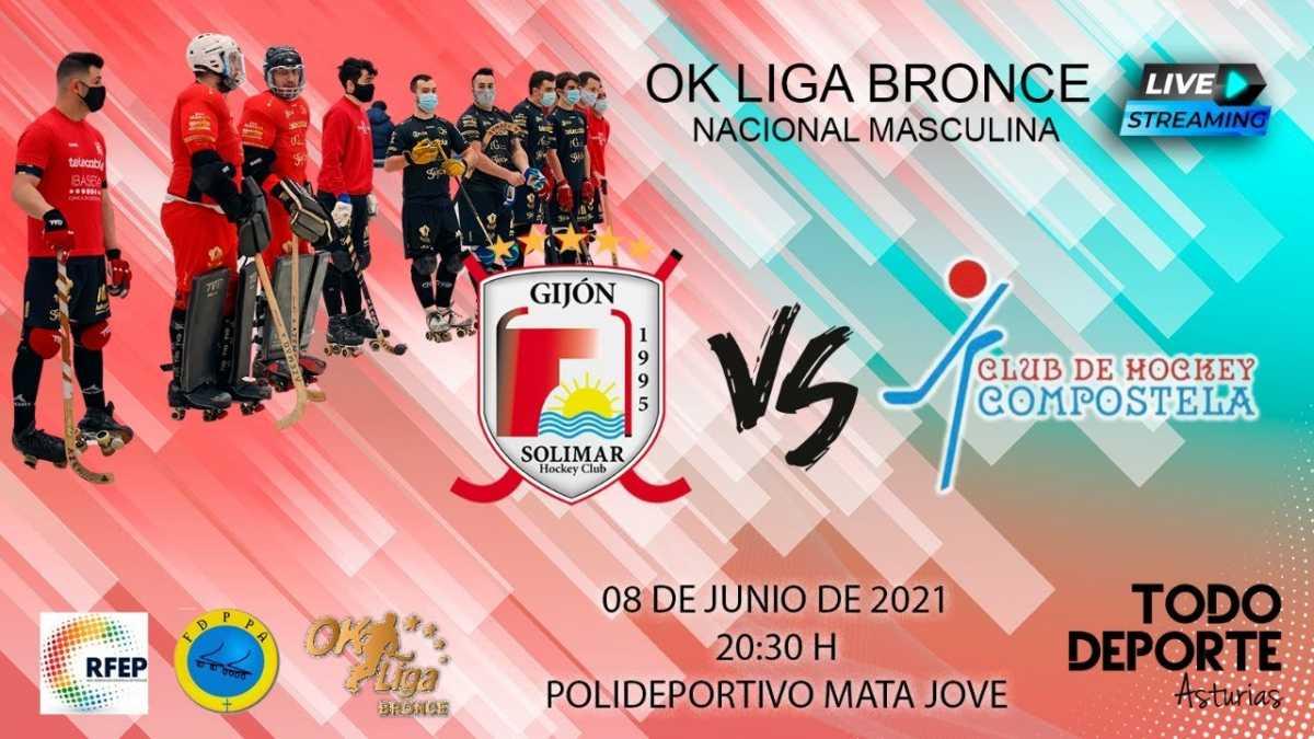 20:30 OK Bronce – 2ª Fase – Telecable HC vs CH Compostela