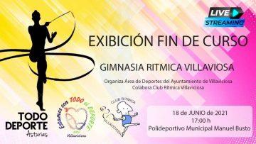 17:00 18-06-2021 Exhibición Fin de Curso de Gimnasia Rítmica Villaviciosa