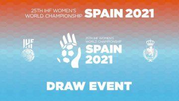 Sorteo Campeonato Mundial de Balonmano Femenino
