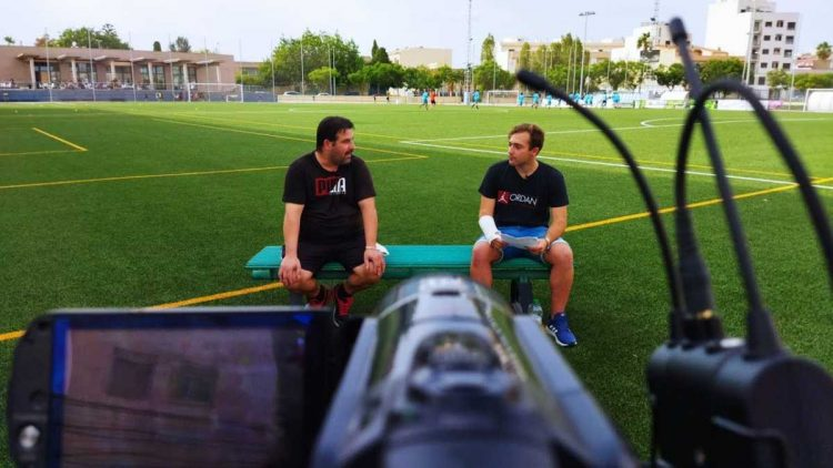 Entrevista a Víctor Pereira Copresidente del Joventut Almassora CF